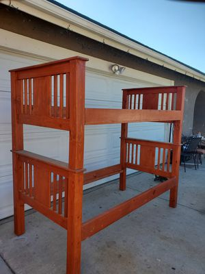 Twin bed frame used for Sale in Fontana, CA