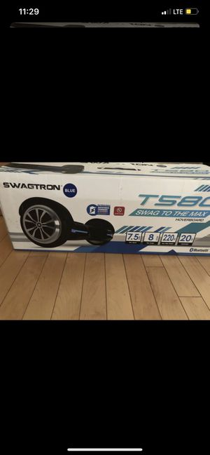 Hoverboard blue swagtron for Sale in Los Angeles, CA