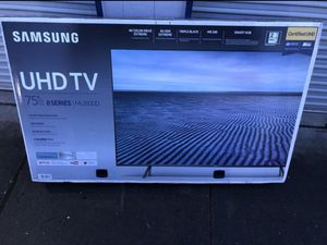 "75"" SAMSUNG UN75MU800D 4K UHD HDR LED SMART TV 240HZ 2160P (FREE DELIVERY) for Sale in Joint Base Lewis-McChord, WA"
