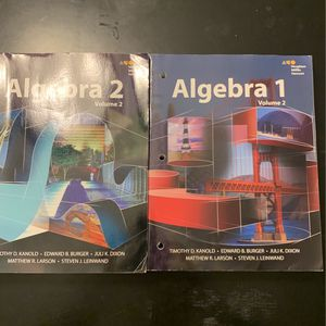 Algebra 1 & 2 for Sale in Kennesaw, GA