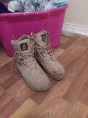 Texas steer steel toe boots for Sale in Palm Beach, FL
