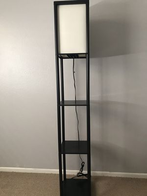 Shelf floor lamp for Sale in Moreno Valley, CA