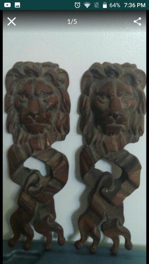 Antique lion heads for Sale in Cicero, IL
