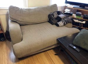 Beige couch for sale for Sale in Pittsburgh, PA