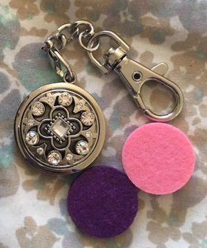 Keychain essential oil diffuser for car, gym bag, locker, etc for Sale in San Jose, CA