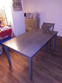 Dining Room Table And 1 Chair for Sale in Phoenix,  AZ