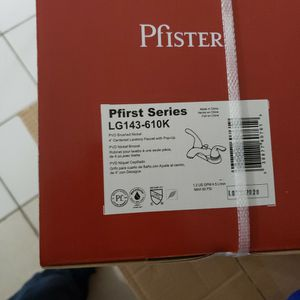 Pfister Bathroom Faucets, Food Waste Disposer!!! for Sale in Dallas, TX