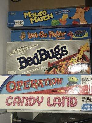 Board games. Rarely used. $5 each. Operation game has been sold for Sale in Fort Washington, MD