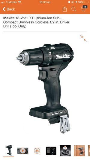 Makita black drill for Sale in Carmichael, CA