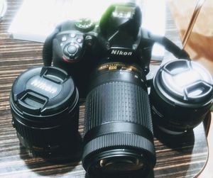Brand new Nikon D3400 camera and lenses..300 obo for Sale in Portland, OR