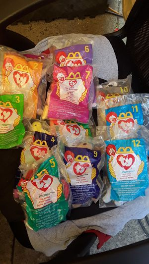 1998 beanie babies complete set for Sale in Sacramento, CA