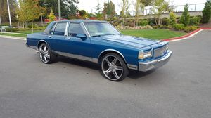 "1987 Chevy Caprice brougham on 24""rims for Sale in Federal Way, WA"