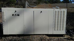Eaton V10 150kw generator, with a tenth of an hour on it. This can power a large job site, or farm. This is a practically brand new generator, and a for Sale in Cambria, CA