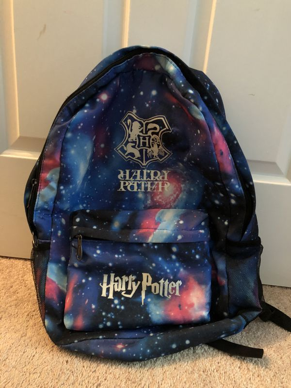 Harry potter glow in the dark backpack