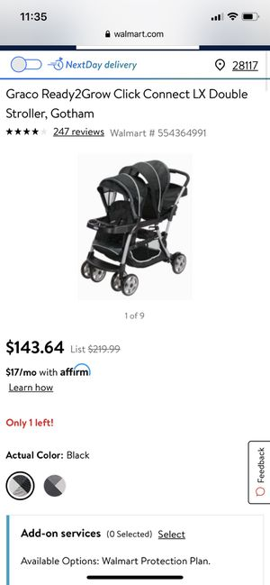 Graco Double Stroller for Sale in Mooresville, NC