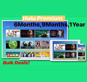 Hulu live TV and Premium TV for Sale in Virginia Beach, VA