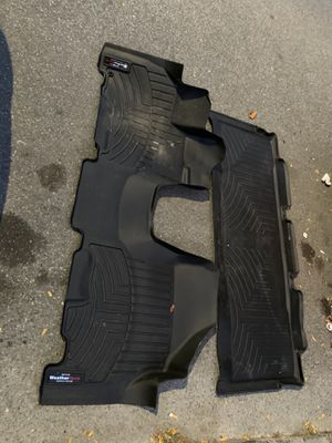 2005 honda odyssey weather tech floor mats 1st 2nd row for Sale in New York, NY