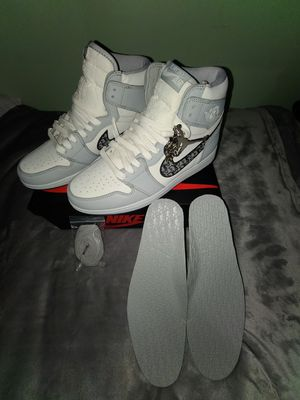 Jordan 1 high top dior size 10 for Sale in Aspen Hill, MD