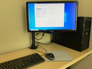 Dell Computer Poweredge T130/Monitor/Keyboard/Mouse/Win 10 for Sale in Round Rock, TX