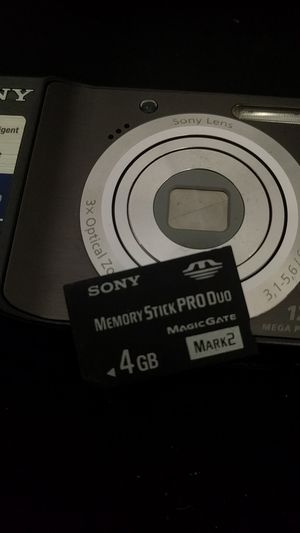 Sony AA powered 12.1megapixel camera with 4gb memory included for Sale in Garden City, MI