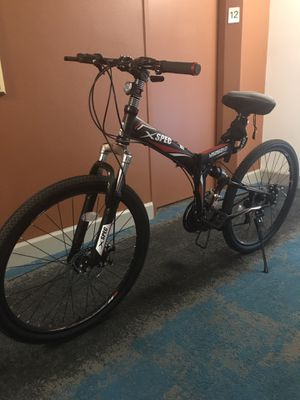 Foldable Mountain Bike for Sale in Seattle, WA
