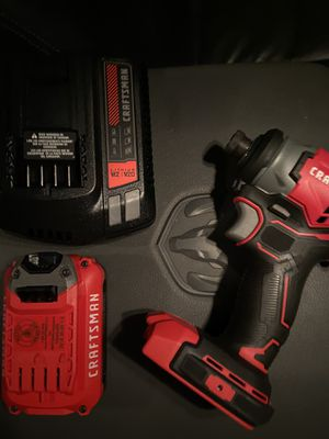 20V craftsman impact for Sale in Plant City, FL
