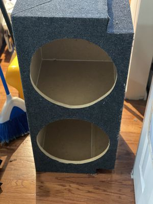 "2 15"" Subwoofer Box for Sale in Washington, DC"