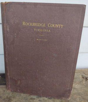 History of Rockbridge County, Va, 1st ed for Sale in Fort Defiance, VA