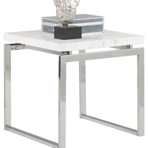 2 Chrome And Marble End Tables for Sale in Atlanta, GA