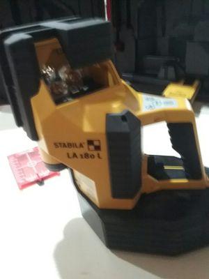 Stabila LA 180 L Multi Line Laser for Sale in Maricopa, AZ