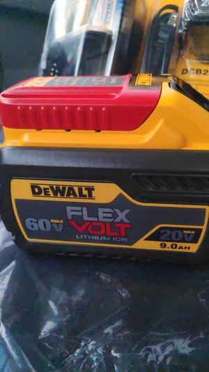 DeWalt 9.0 battery $110 firm for Sale in Fontana, CA