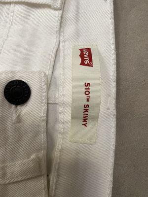 Levi's 510 White Skinny Jeans for Sale in Malden, MA