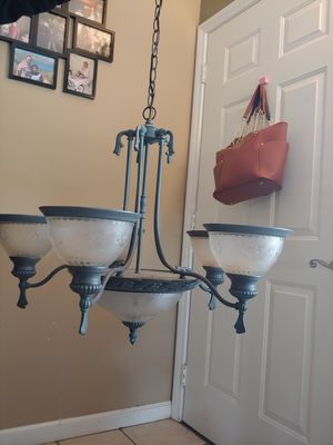 Vintage style iron chandelier for Sale in Fontana, CA