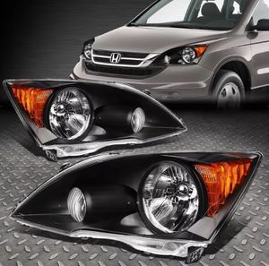 07 ~ 11 Honda CR-V Black Housing headlights 💡🚐 for Sale in Pomona, CA