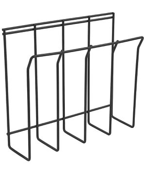 Magazine rack - Black - wall mountable for Sale in Redwood City, CA