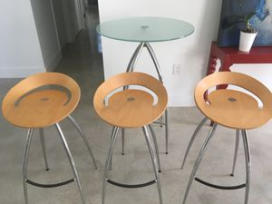 Hi end bistro table set for Sale in Miami, FL