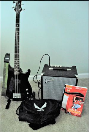 Base guitar and amp for Sale in Canonsburg, PA