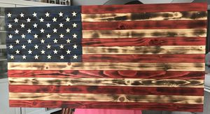 Wooden American flag for Sale in Albuquerque, NM