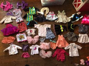 Assorted Accessories American Girl MyLife clothing and Dolls for Sale in Atlanta, GA