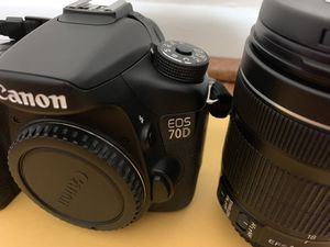 Canon 70D bundle for Sale in King of Prussia, PA