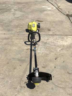 RYOBI 25cc 2-Cycle Attachment Capable Full Crank Straight Gas Shaft String Trimmer for Sale in Bakersfield, CA