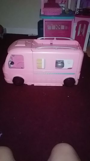 Barbie camper $25 pickup ASAP moving out tomorrow need it gone for Sale in Jacksonville, FL