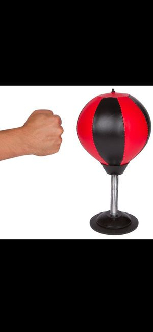 Punching bag for desktop with pump for Sale in Inglewood, CA