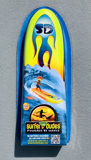 Surfer Dudes Wave Powered By Wave Surfer and Surfboard Toy Brand New for Sale in Laguna Beach, CA