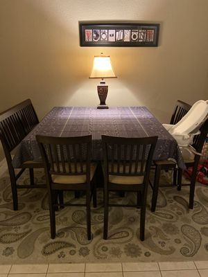 Wood high top dining table for Sale in Chandler, AZ