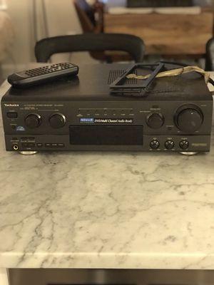 Technics AV control stereo receiver Model SA-AX503 for Sale in Boston, MA