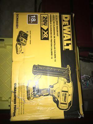 18G finísh gun nailer kit for Sale in Durham, NC