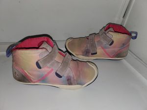 PLAE Max Girls Galaxy Print High Top Shoes 3Y for Sale in Newington, CT
