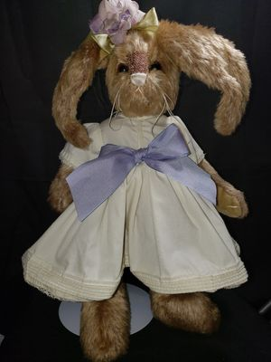 """Bearington collection bunny 14"""" for Sale in Zanesville, OH"""