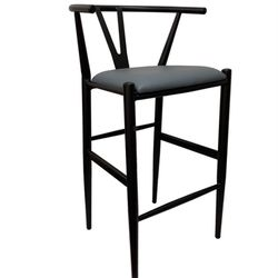Modist Commercial Metal Wishbone Bar Stool for Sale in Ontario,  CA